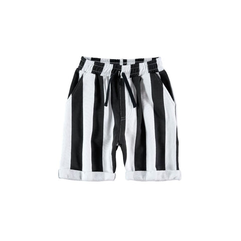 Yporque Striped Sweat Shorts