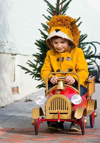 Little Goodall Luxe Lion Coat