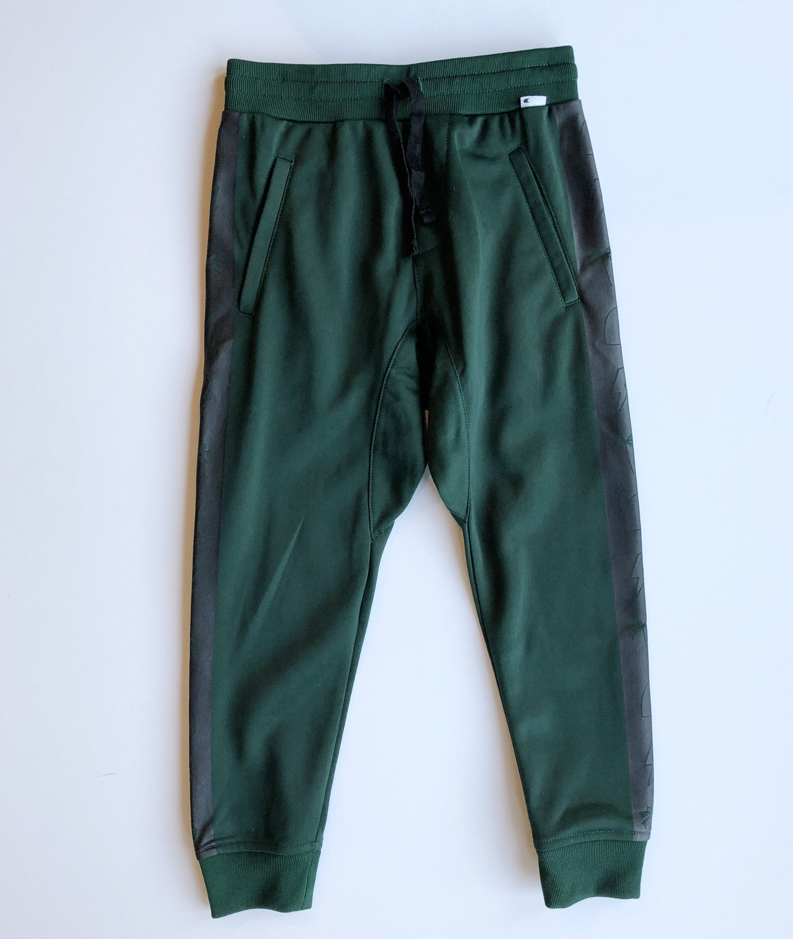 Munster Kids Boys Green Performer Track Pants Little