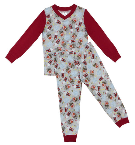 ESME Movie Night Long Sleeve Pajama Set - Cute Designer Children's Clothing