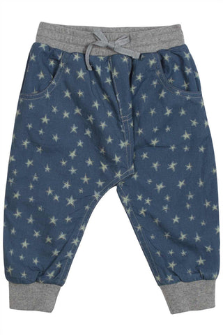Little Wings Fall 2017 Boys Starry Night Chambray Trackies