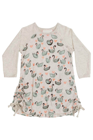Little Wings Fall 2017 Bustle Back Swans Dress