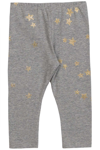 Little Wings Fall 2017 Girls Glitter Stars Leggings