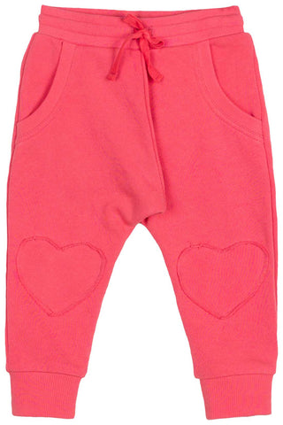 Little Wings Fall 2017 Girls Pink Trackies