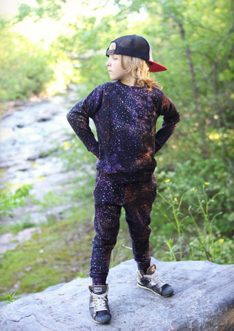 Munster Kids Boys Kaleido Galaxy Jogger Pants