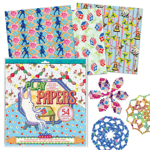 eeBoo Fun Printed Play Papers - Cute Designer Children's Clothing