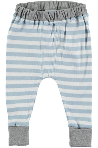 Rockin' Baby Crawlin' Blue Stripe Pants - Little Luna Blue
