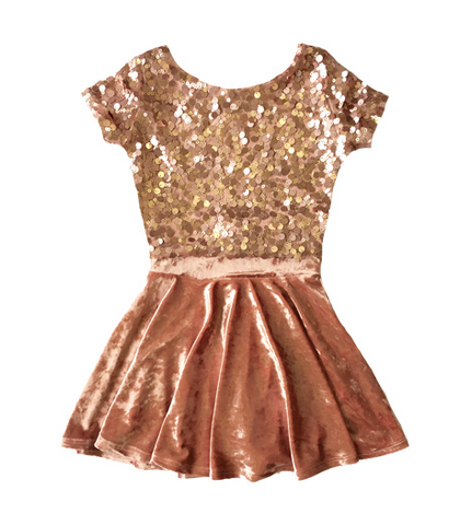 Fiveloaves Twofish Rose Gold Chandelier Skirt Set