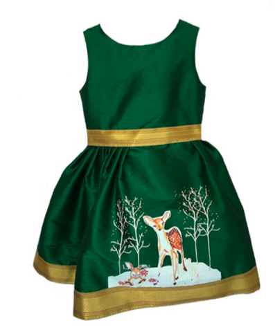 Fiveloaves Twofish Fawn of Winter Dress