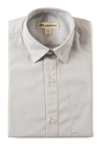 Appaman Grey & White Standard Boys Shirt