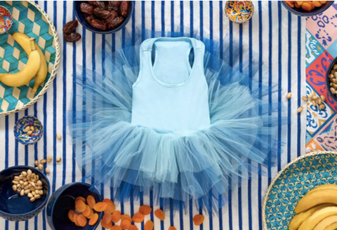 Plum NYC Blue Ombre Honor Tutu