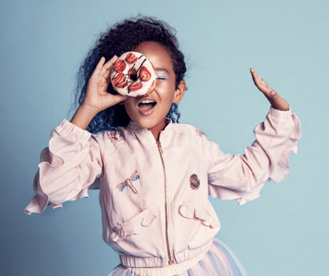 Tutu du Monde Play Funhouse Feel the Magic Marshmallow Bomber Jacket