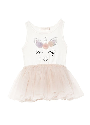 Tutu du Monde Play Funhouse Lychee Gracie Unicorn Bebe Dress