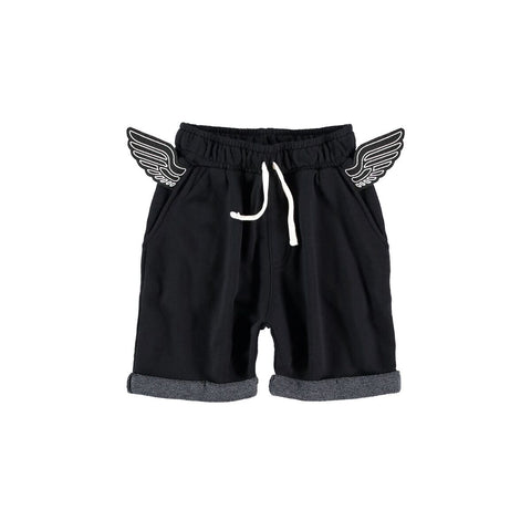 Yporque Black Wings Shorts