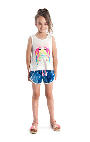 Appaman Girls Topanga Macaw Tank Top