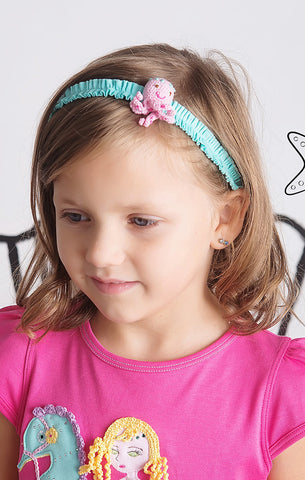 Lemon Loves Lime Girls Octopus Headband - Cute Designer Children's Clothing