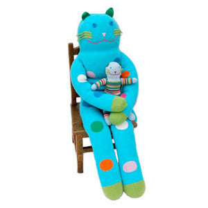 Bla Bla Giant Bubbles the Cat Doll - Cute Designer Children's Clothing