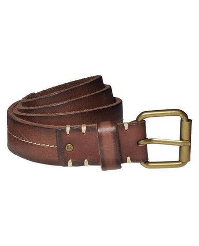 Scotch Shrunk Moulded Leather Belt - Little Luna Blue