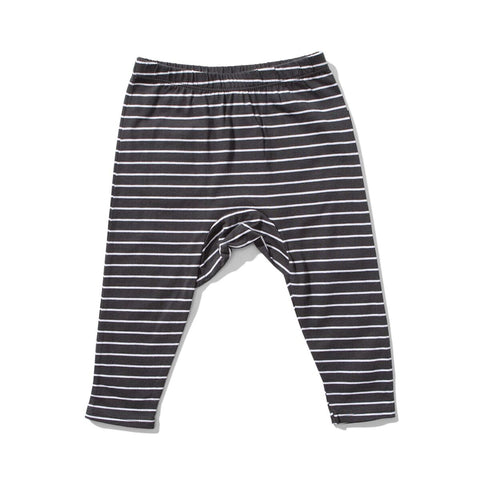Mini Munster Boys Ash Stripe Razor Pants