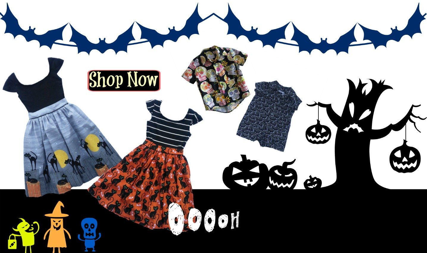 Halloween Kids Clothes and Decor