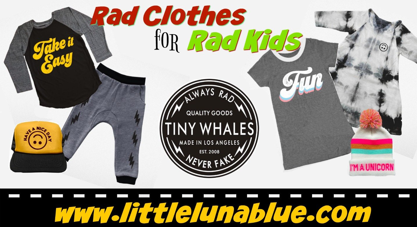 Tiny Whales Children's Clothing