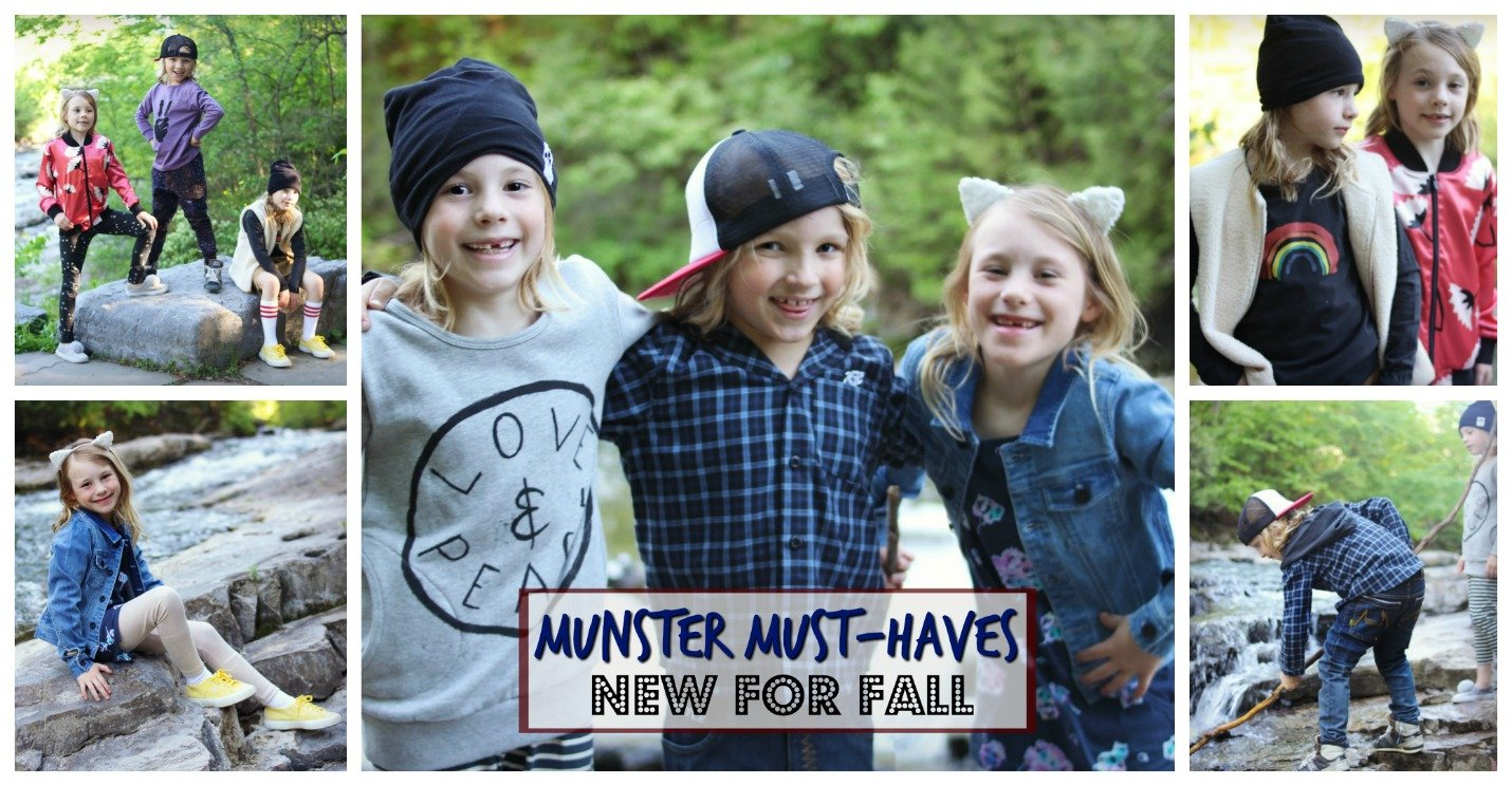 Munster Kids Clothing Boys and Girls