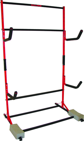 MALONE FS 3 KAYAK STORAGE RACK WITH CASTER SET