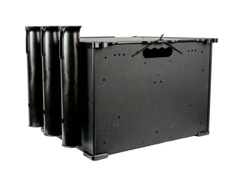 YakAttack BlackPak 12X16X11 BLACK W/LID AND 3 ROD HOLDERS BLP-121611