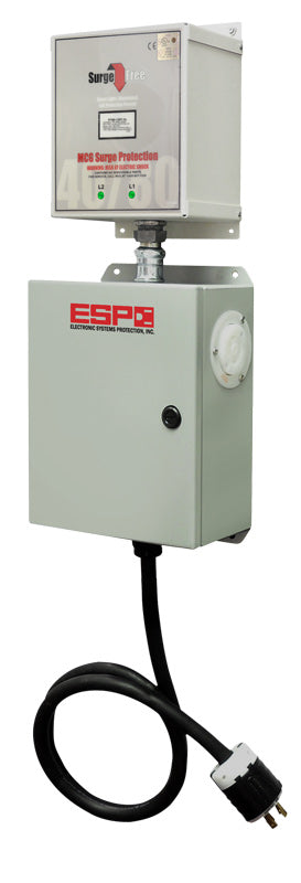 ESP Three Phase Surge Protector, 208 volt, 30 amp with L15-30 connectors, model #MSF120M240D
