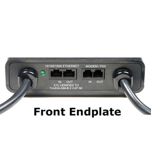 ESP Digital QC Surge Protector and EMI/RFI Noise Filter - Model D5143NTG - 120 volt, 20 amp