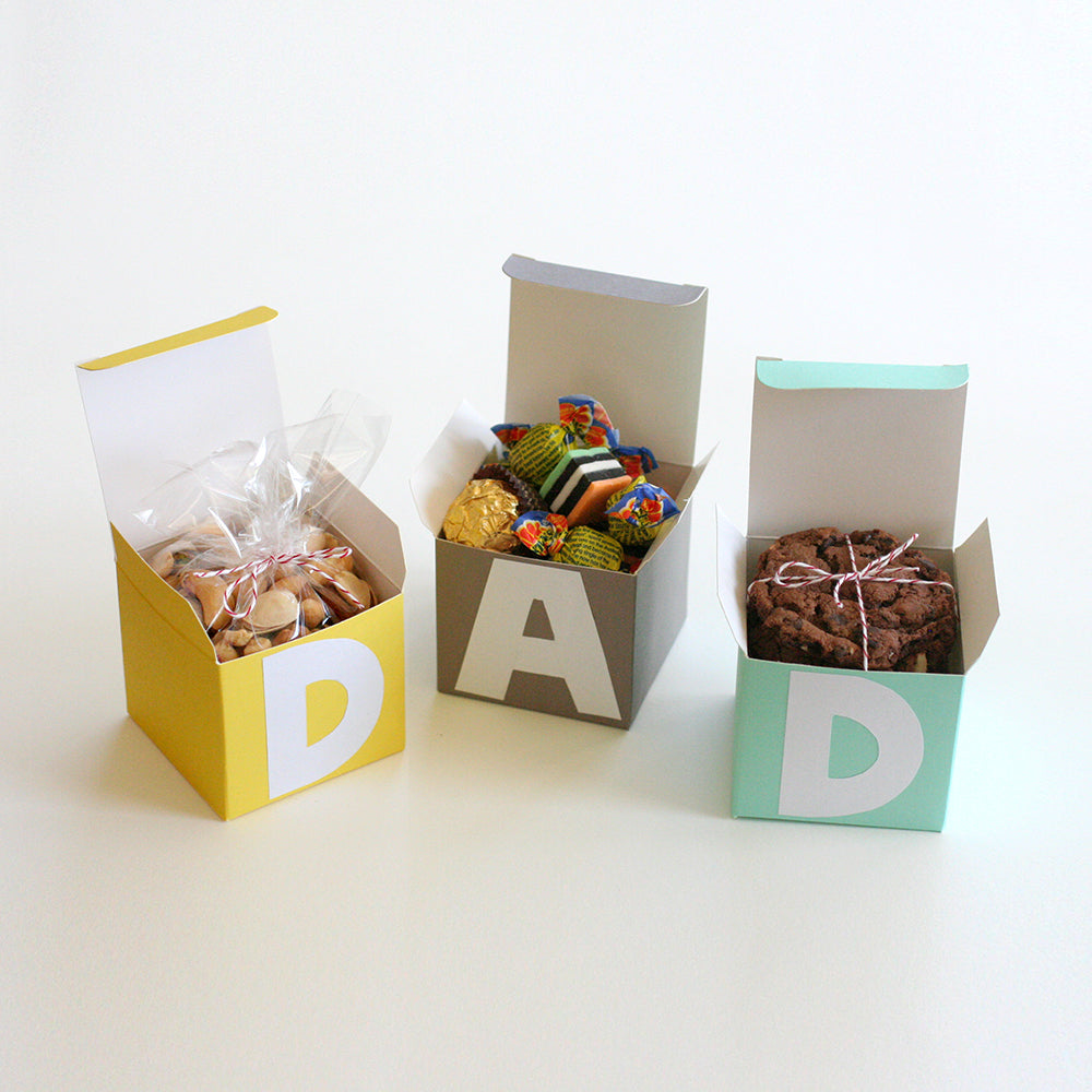 D-A-D Treat Boxes