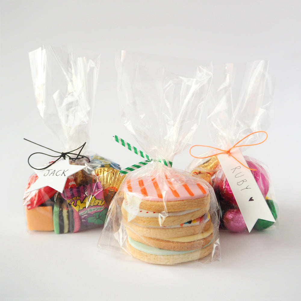 Cello treat bags