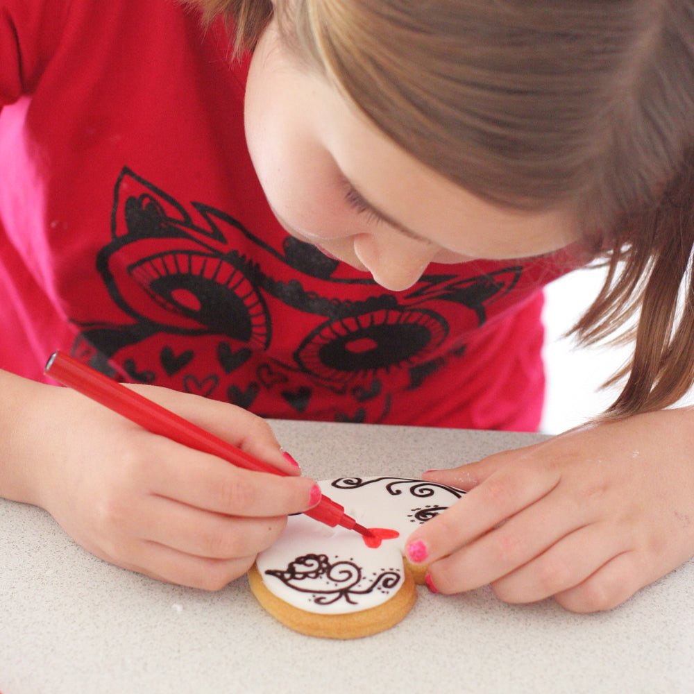 Easy Peasy Cookie Decorating