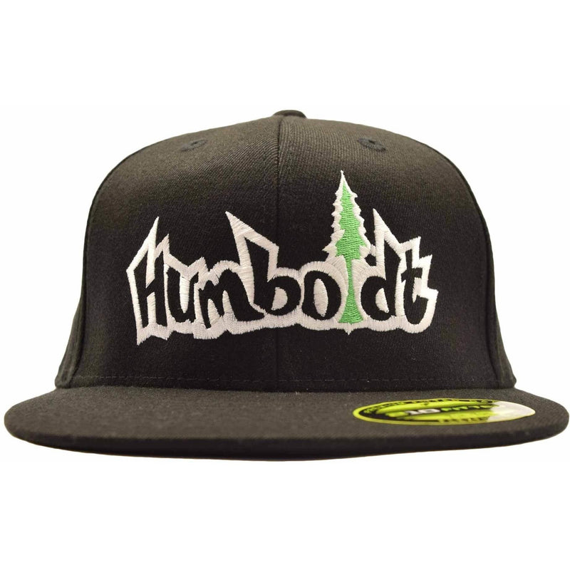 Flat Bill Treelogo Outline Flex Hat - Humboldt Clothing Company
