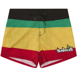Rasta Women's Boardshorts
