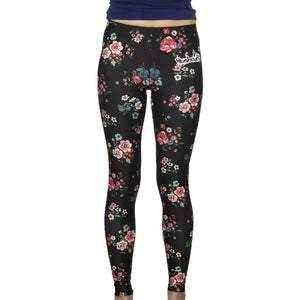 Humboldt Active Leggings - Flowers Print Legging | Humboldt Clothing
