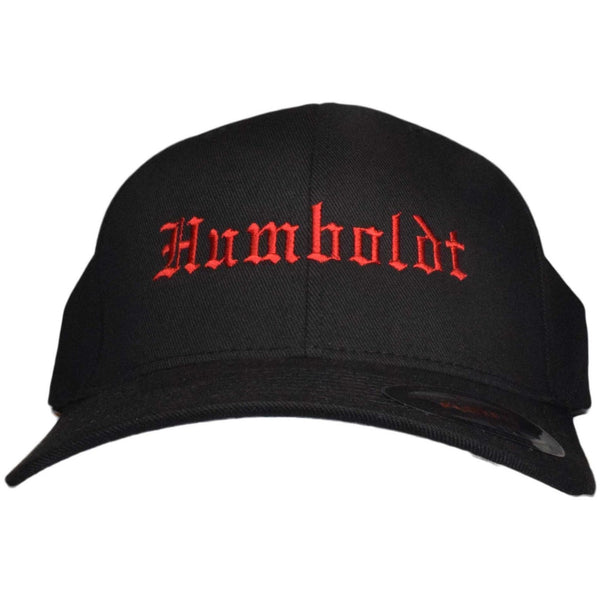 Curved Bill Old English Flex Hat - Humboldt Clothing