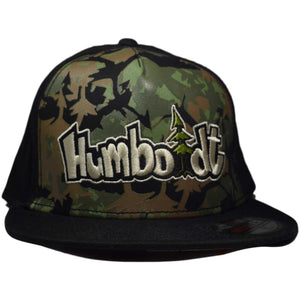 Flat Bill Wooded Stash Otto Custom Hat - Humboldt Clothing Company