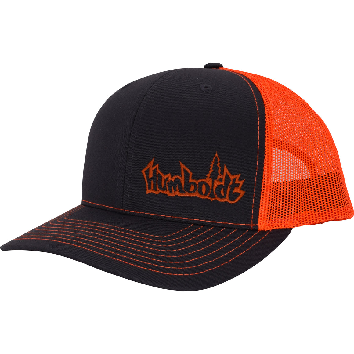 Curved Bill Basic Logo Trucker Hat