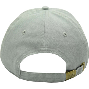 Curved Bill Dyed Leather Patch Strap Hat