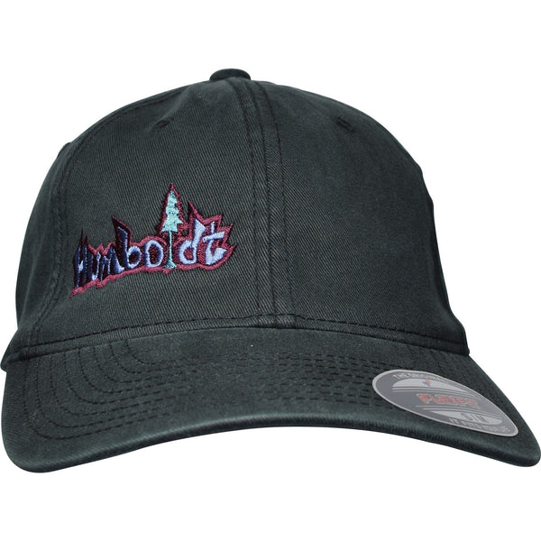 Curved Bill Small Treelogo Flexfit Dad Hat - Humboldt Clothing Company