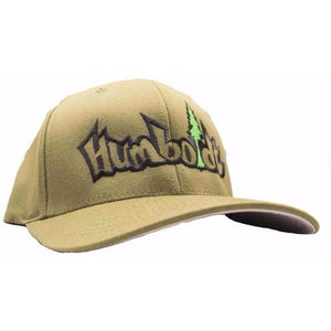 Curved Bill Treelogo Outline Flex Hat - Humboldt Clothing
