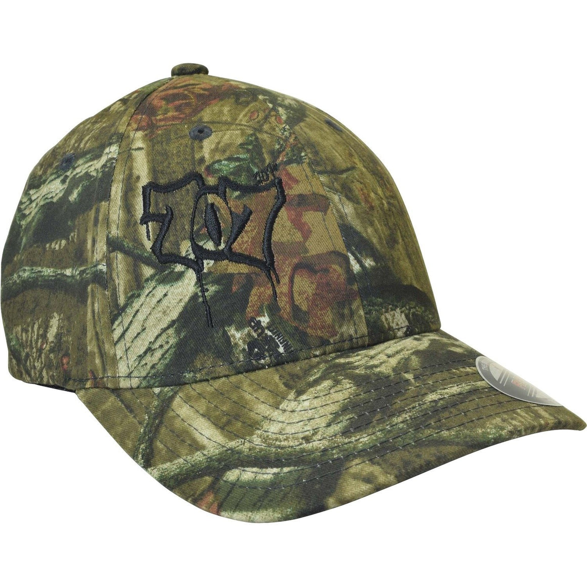 Curved Bill 707 Mossy Oak Infinity Flexfit Hat - Humboldt Clothing Company