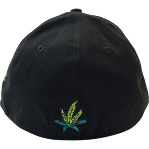 Curved Bill Sour Diesel Custom Otto Hat - Humboldt Clothing Company