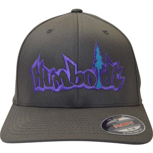 Curved Bill Treelogo Outline Flex Hat - Humboldt Clothing Company
