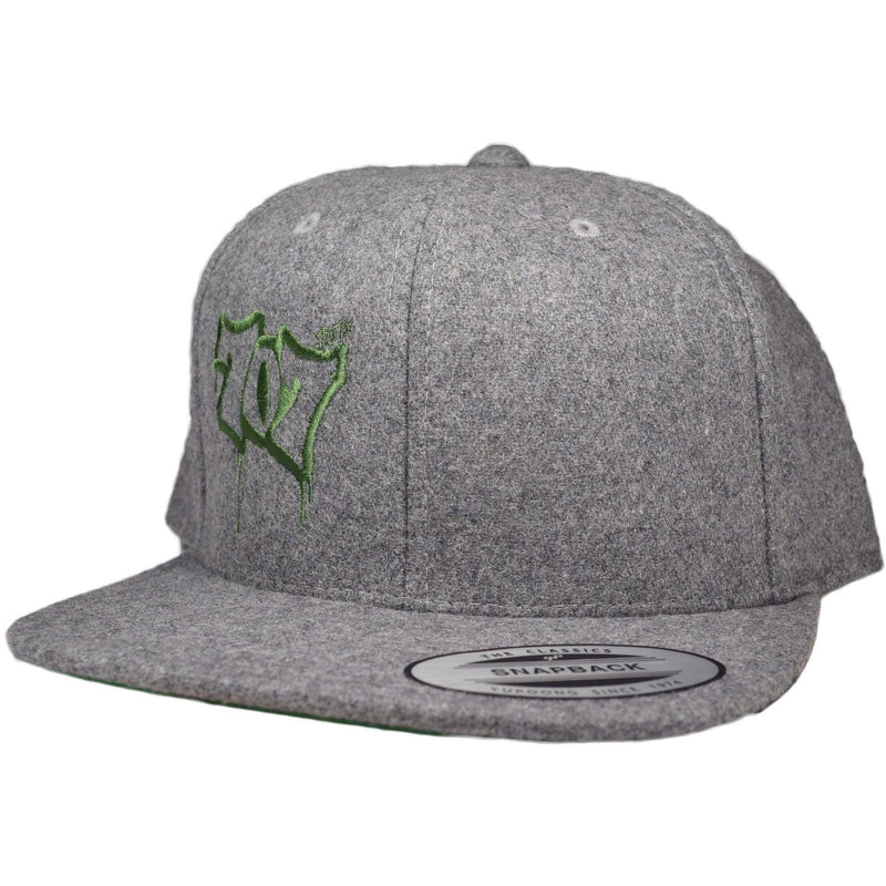 Flat Bill 707 Wool Snap Hat - Humboldt Clothing Company