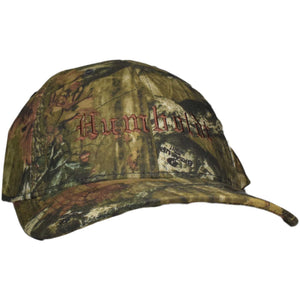 Curved Bill Old English Mossy Oak Infinity Flex Hat - Humboldt Clothing Company