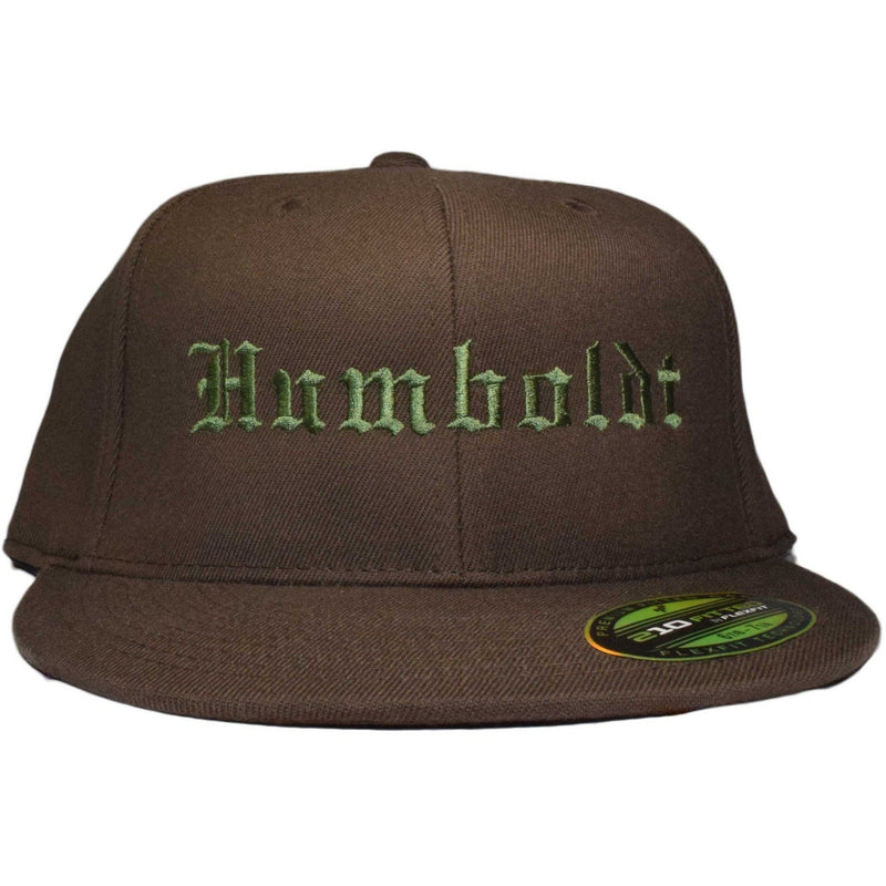 Flat Bill Old English Flex Hat - Humboldt Clothing
