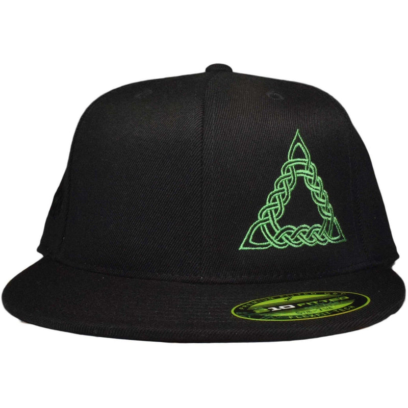 Flat Bill Celtic Triangle Flex Hat - Humboldt Clothing