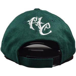 Curved Bill Treelogo Outline Velcro Hat - Humboldt Clothing Company